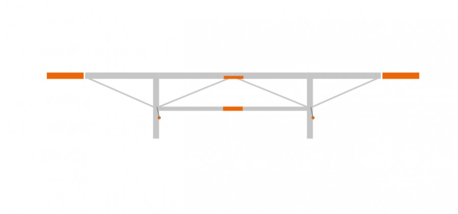 Extension package 2 x 0.5 m, (F2, F2+)