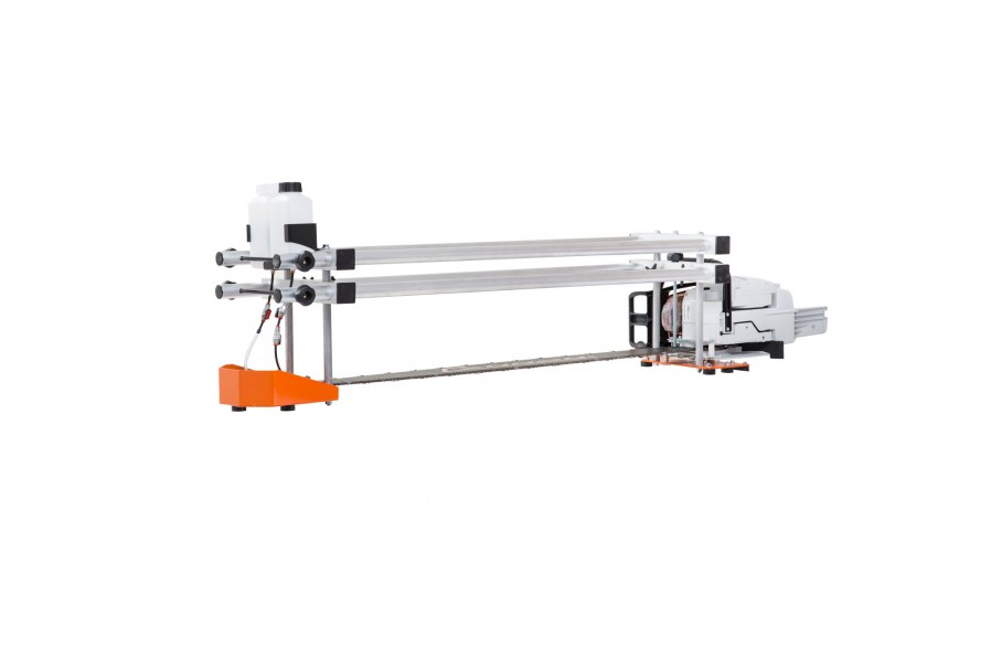 """Big Mill saw frame, for 84"""" (214 cm) guide bar"""