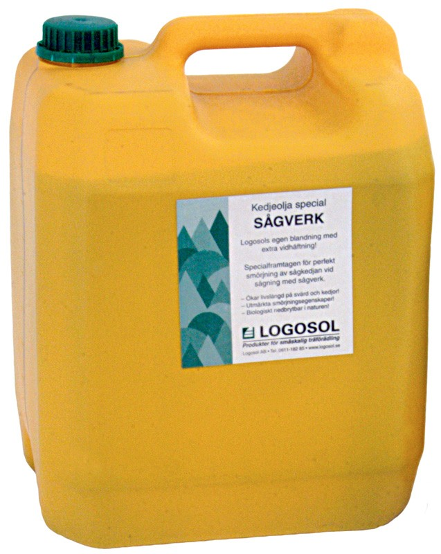 Chain oil for sawmills, 10 litres