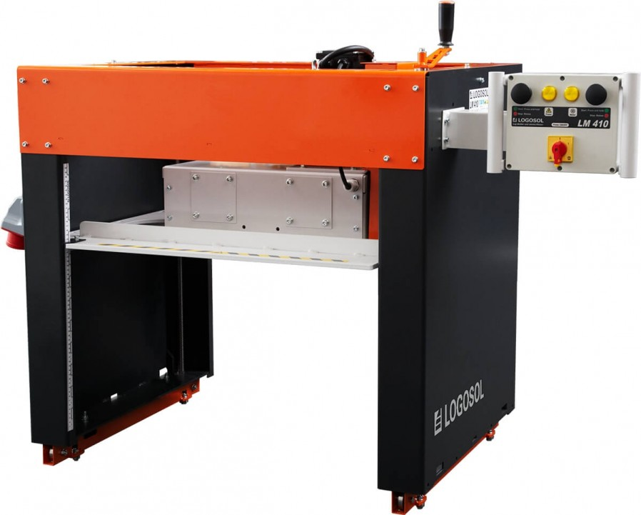 LM410 XL Log Moulder with 9 HP Gas Motor