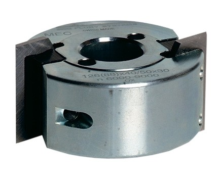 Universal cutter head TB9092 for two knives