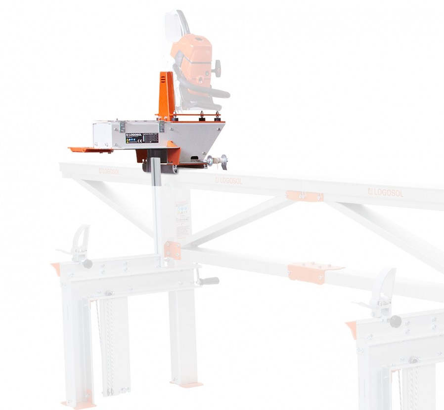 Log House Moulder for Gas Chainsaw