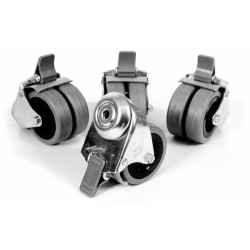 Castor Set, 4 Lockable Castors