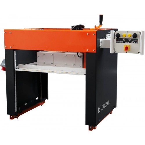 LM410 Log Moulder with 9 HP Gas Motor